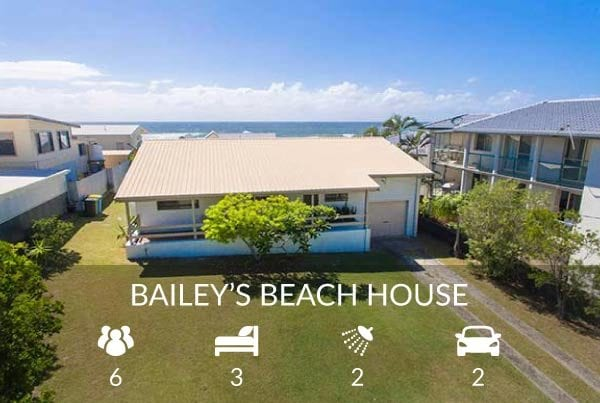 Bailey's Beach House - Ballina Accommodation
