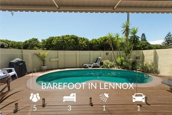 Barefoot in Lennox - holiday accommodation
