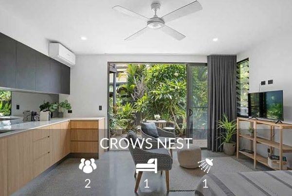 Crows Nest - Lennox Head holiday accommodation